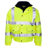ST Hi Viz Bomber Jacket Yellow