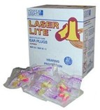 LaserLite LL30 Disposable Ear Plugs (100 individually wrapped pairs)