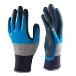 Showa 376 Foam Coated Nitrile Glove