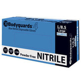 Bodyguard Powder Free Nitrile Disposable Gloves