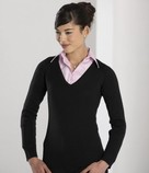 710F Ladies V-Neck Sweater