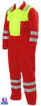 Nero Executive Red Yellow Coverall
